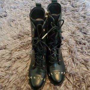 Michael Kors combat boots size 8